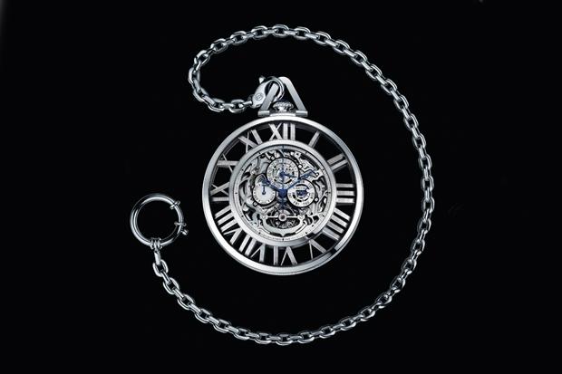 Cartier Skeleton Pocket Watch