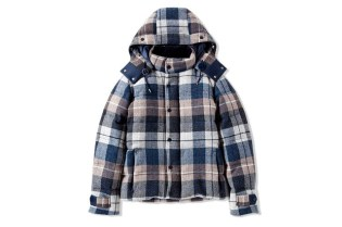 CASH CA Wool Down Hoody Jacket
