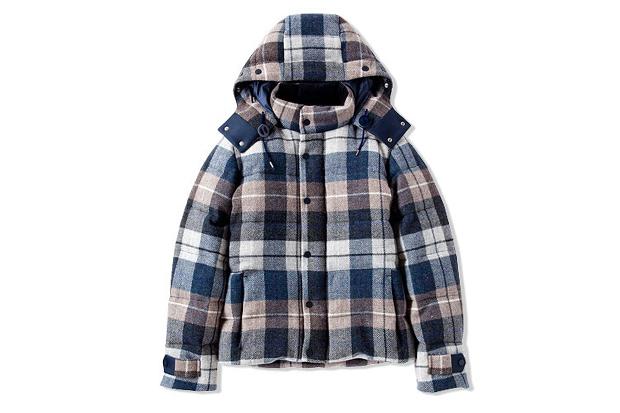 CASH CA Wool Down Hoody Jacket