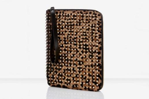 Christian Louboutin Leopard Pony Cris iPad Case