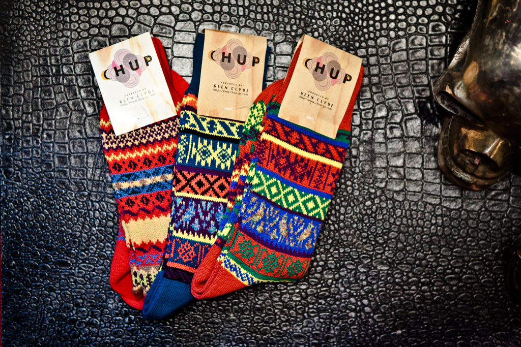 chup socks 2011 fallwinter new releases