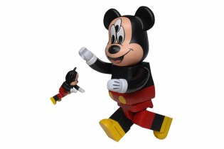 CLOT x Disney x Medicom Toy 3-Eyed Mickey Bearbrick 100% & 400%