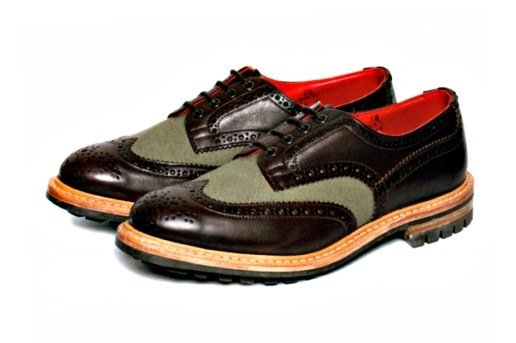 Junya Watanabe COMME des GARCONS MAN x Tricker's Country Brogues