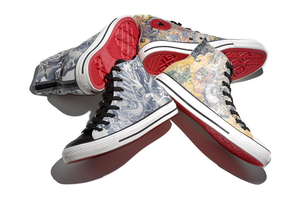 converse chuck taylor all star leather hi year of the dragon