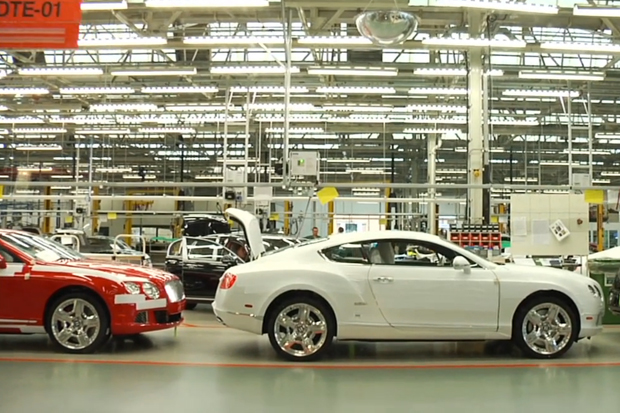 Cool Hunting: Bentley's Factory