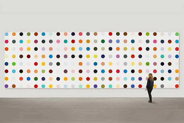 damien hirst the complete spot paintings 1986 2011