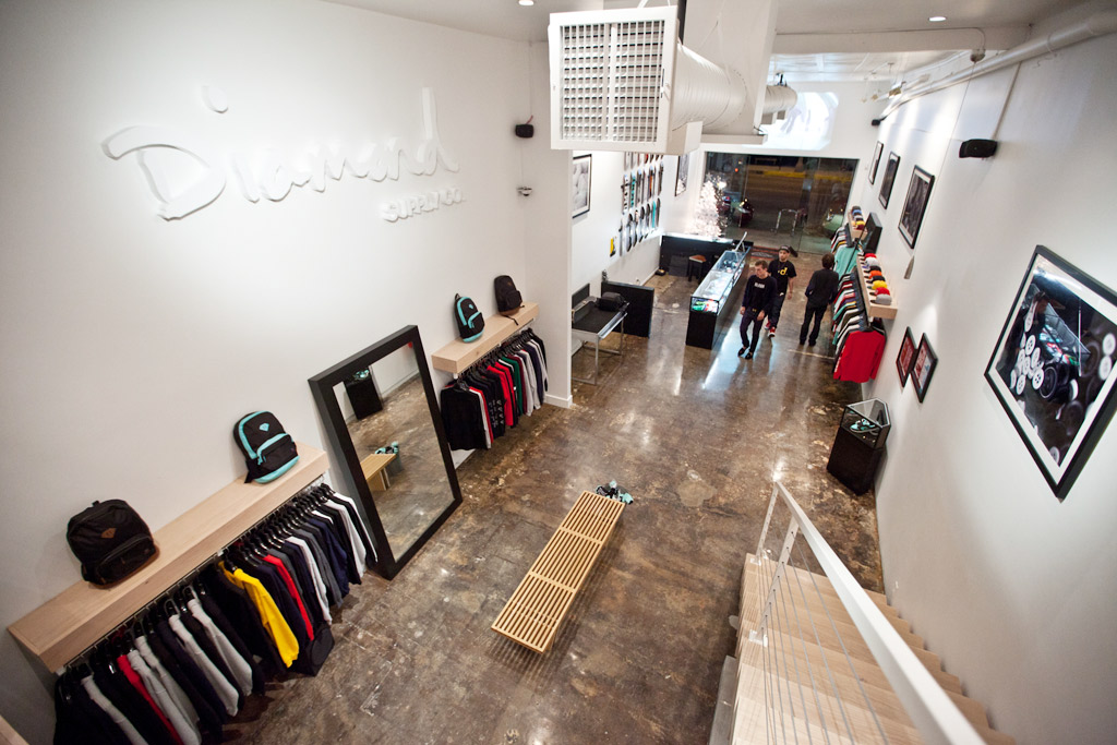 Diamond Supply Co. Fairfax Store Reopening