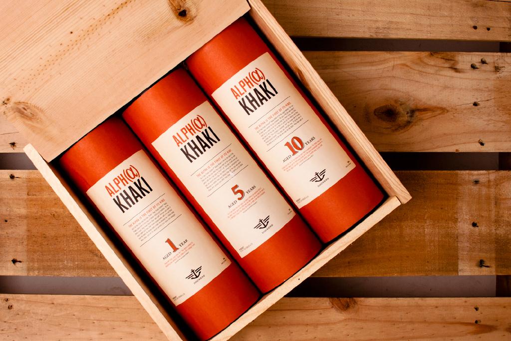 Dockers Alpha Khaki Whiskey Crate