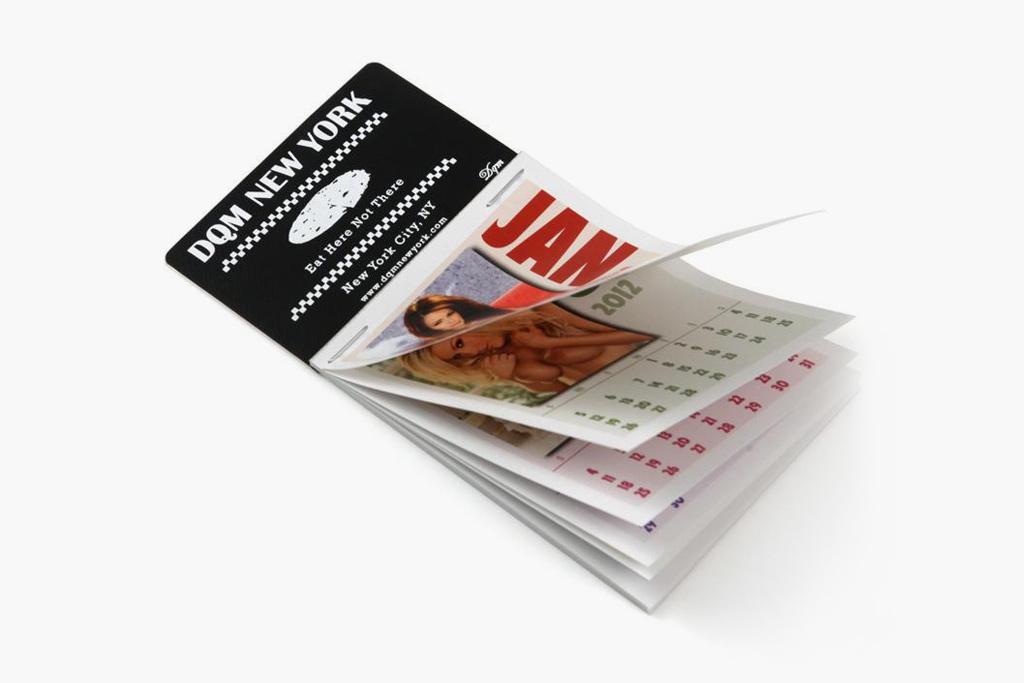 DQM 2012 Dashboard Girls Calendar