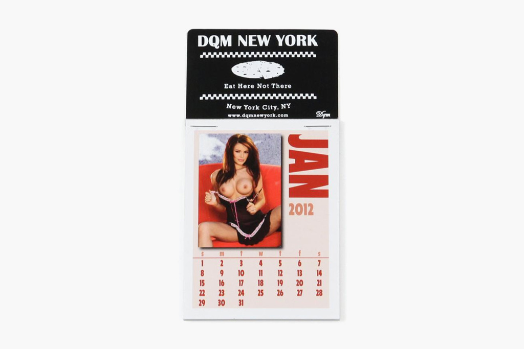 dqm 2012 dashboard girls calendar