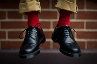Dr. Martens for HYPEBEAST 3989 5-Eye Brogue Lookbook