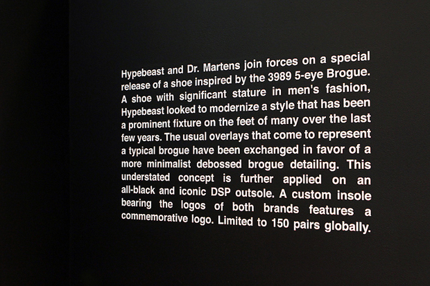 Dr. Martens for HYPEBEAST Exclusive Installation at Dover Street Market London