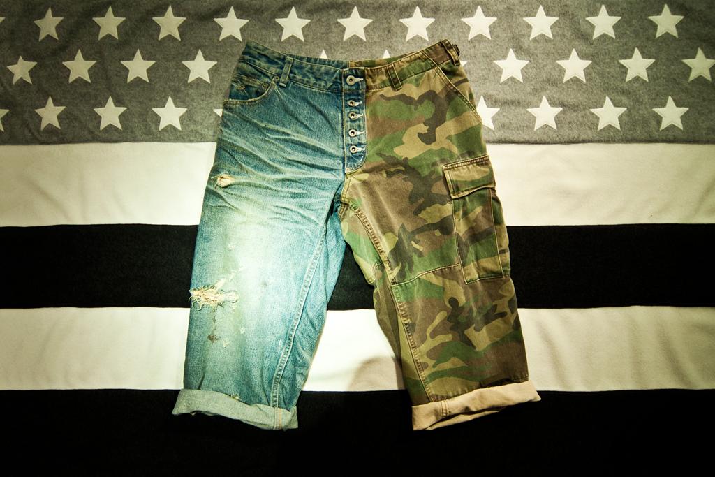 .efiLevol Cargo/Denim Shorts