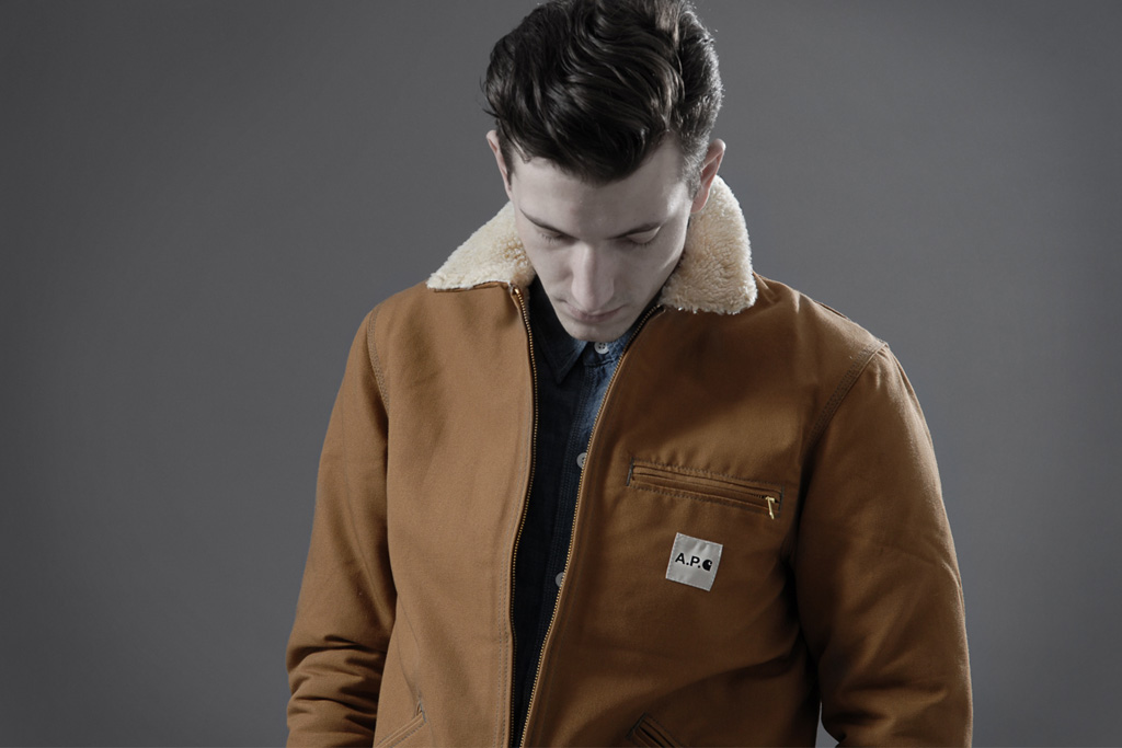 End Clothing: A.P.C. x Carhartt 2012 Spring/Summer Lookbook