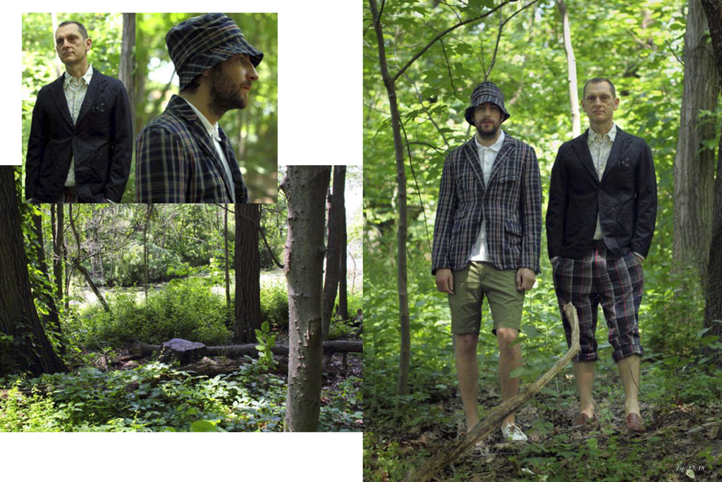 engineered garment 2012 springsummer collection lookbook