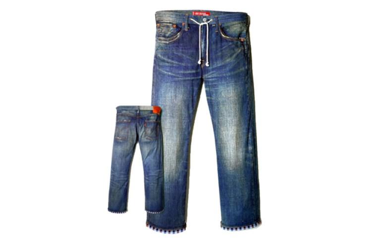 eYe COMME des GARCONS Junya Watanabe MAN x Levi's Denim Jeans