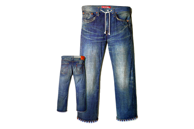 eye comme des garcons junya watanabe man x levis denim jeans