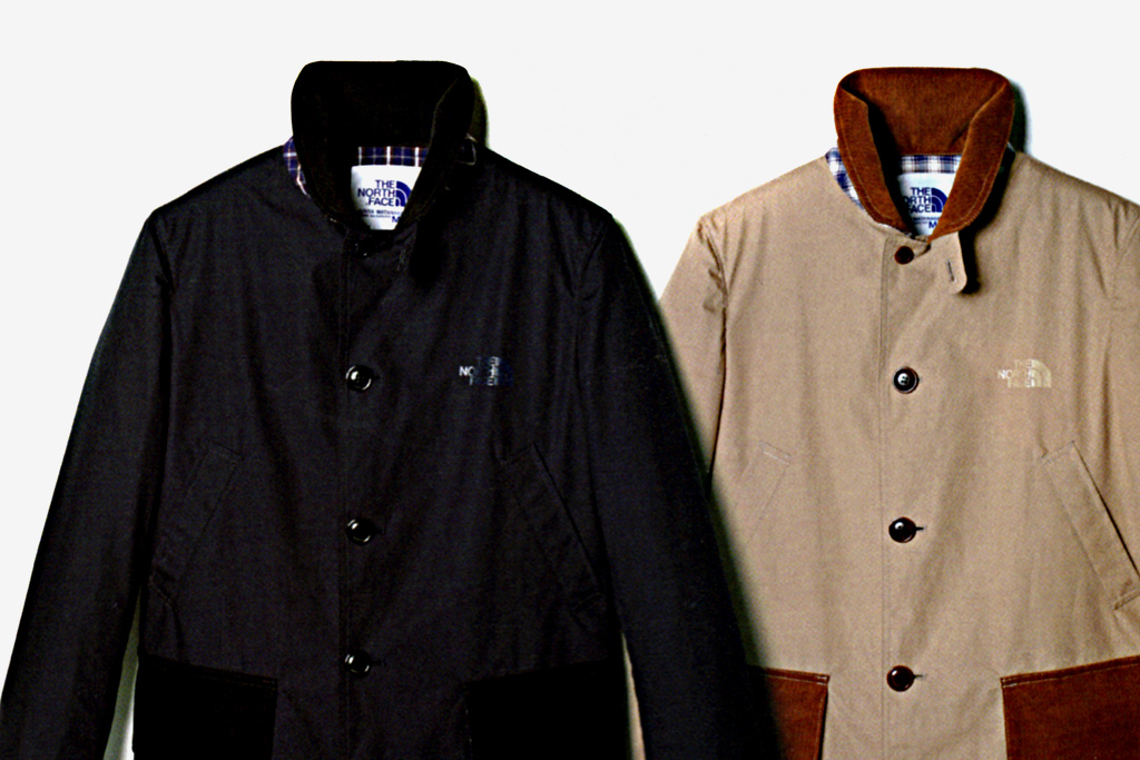 eye comme des garcons junya watanabe man x the north face winter coat collection