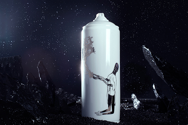 Famiglia x Bombe Porcelain Artist Spray Cans