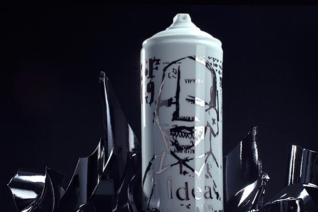 Famiglia x Bombe Porcelain Artist Spray Cans