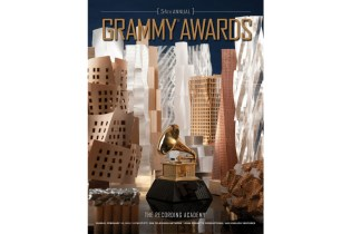 Frank Gehry 54th Annual Grammy Awards Poster