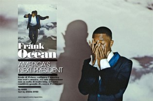Frank Ocean for L'Uomo Vogue