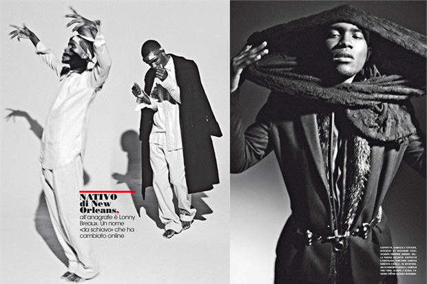 Frank Ocean for L'Uomo Vogue