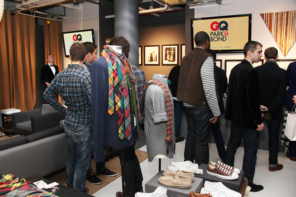 gq x park bond pop up shop