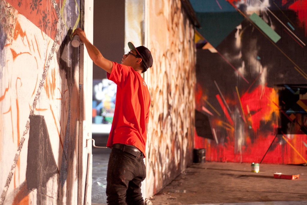 "Graffuturism ""In situ"" Mural Installations @ Art Basel Miami 2011 Recap"