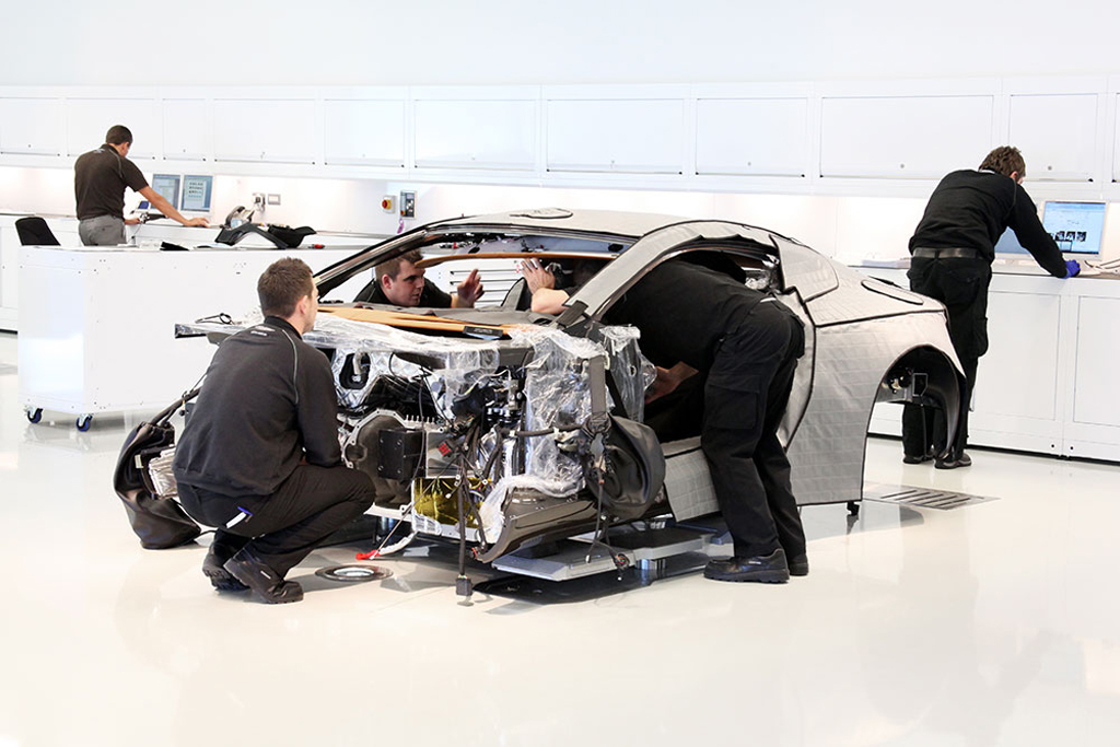 how aston martin builds the gorgeous one 77 supercar