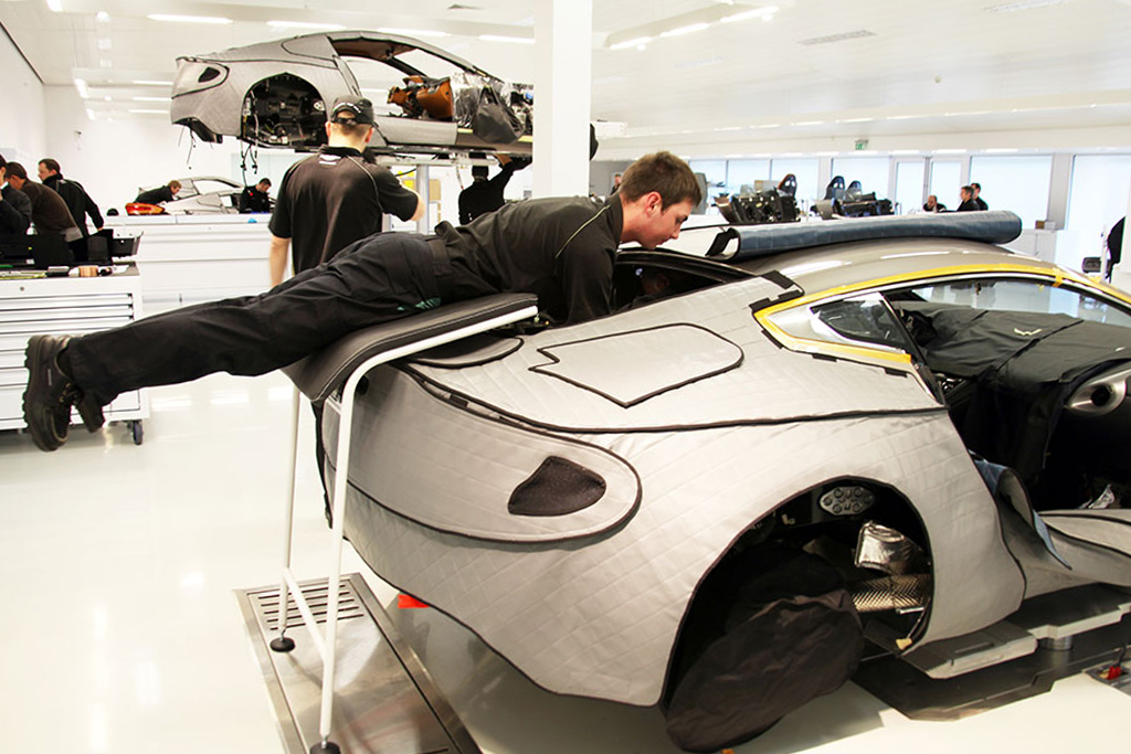 How Aston Martin Builds the Gorgeous One-77 Supercar