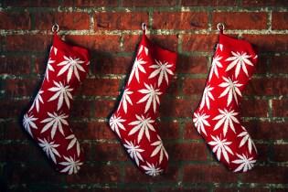 HUF 2011 Holiday Plantlife Christmas Stocking