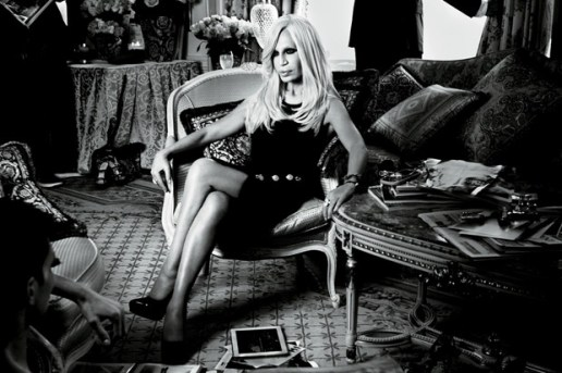Interview Magazine: Nicki Minaj Interviews Donatella Versace