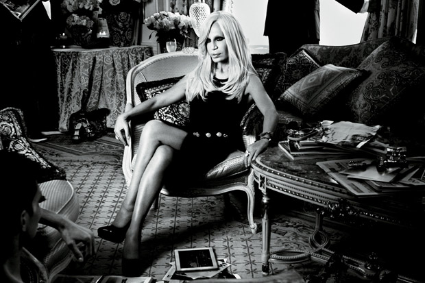 interview magazine nicki minaj interviews donatella versace