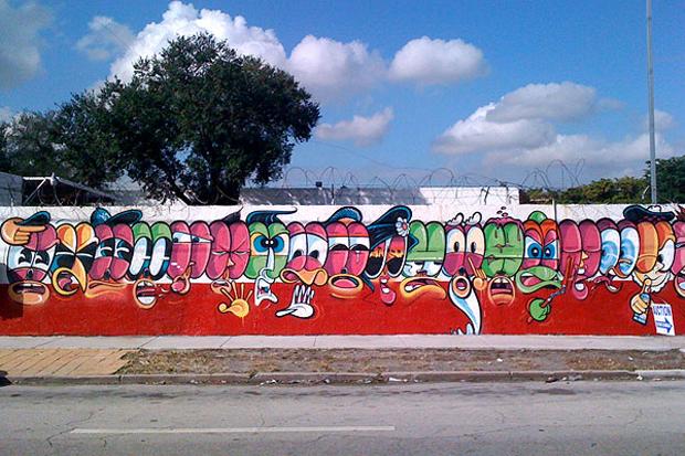 Jersey Joe @ Art Basel Miami 2011