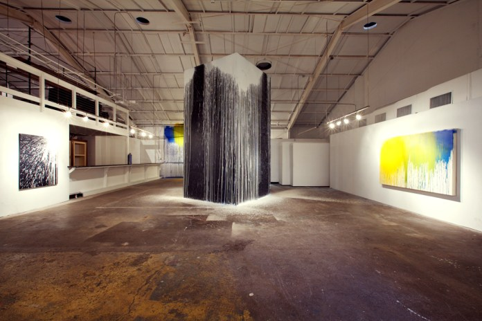 "Krink ""Site-Specific Painting and Sculpture"" Exhibition @ Loft in Space Recap"
