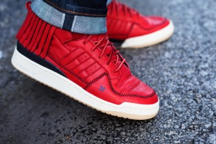 Leaders 1354 x adidas Originals Forum Moccasin Mid