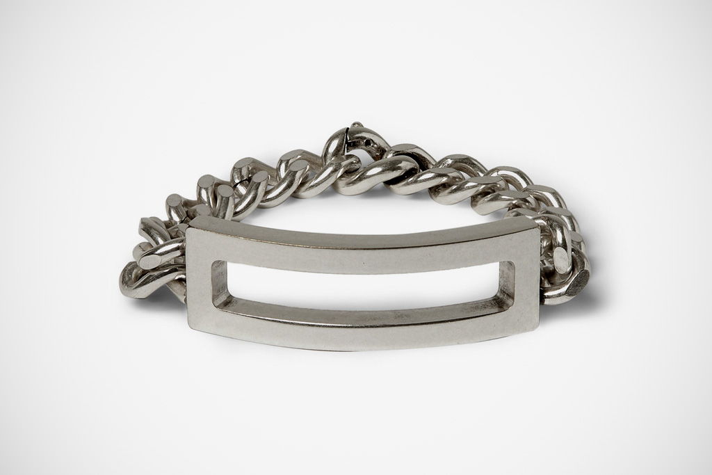 Maison Martin Margiela Brass ID Bracelet