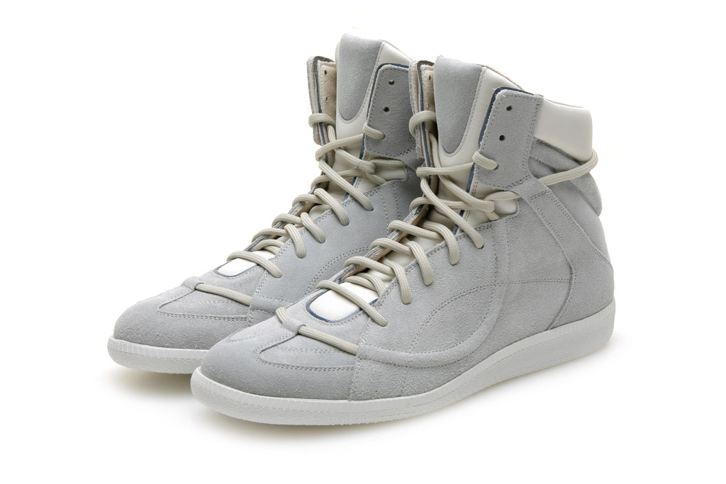 maison martin margiela line 22 high top sneaker