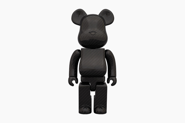 "Medicom Toy Bearbrick 400% ""DRY CARBON"""