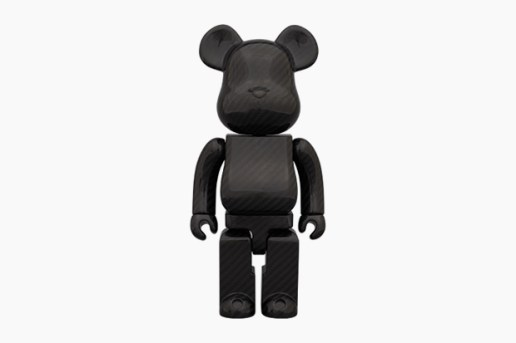 "Medicom Toy Bearbrick 400% ""DRY CARBON"""