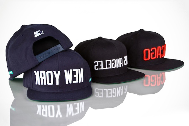 Mighty Healthy x Starter New York, Chicago & Los AngelesCaps