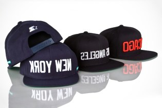 Mighty Healthy x Starter New York, Chicago & Los Angeles Caps