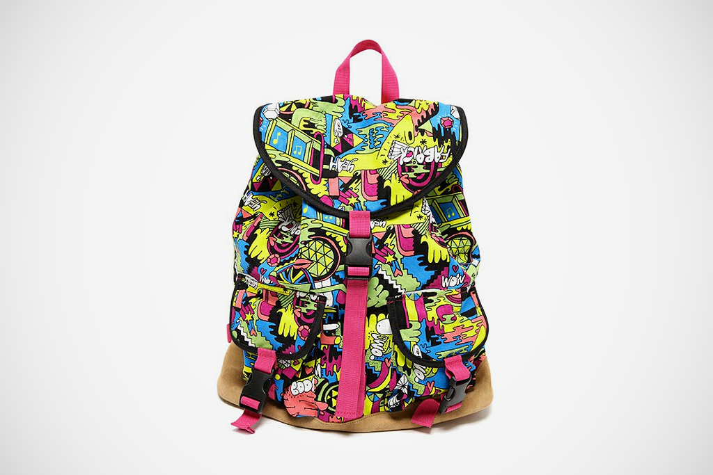 Mike Perry x Medicom Toy Life Entertainment Backpack