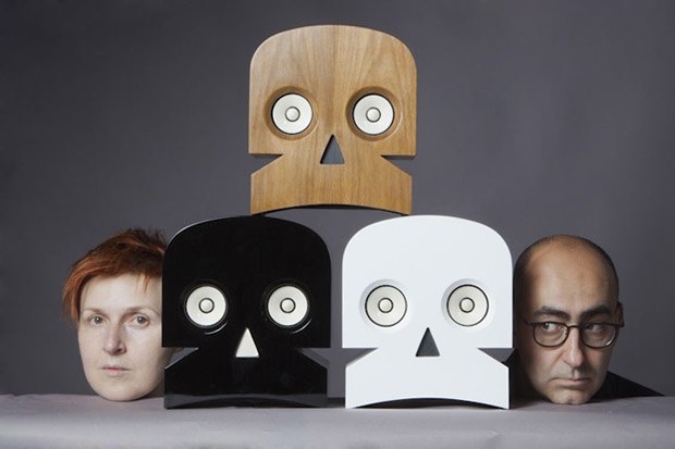 MinuSkull Speakers by Kuntzel + Deygas