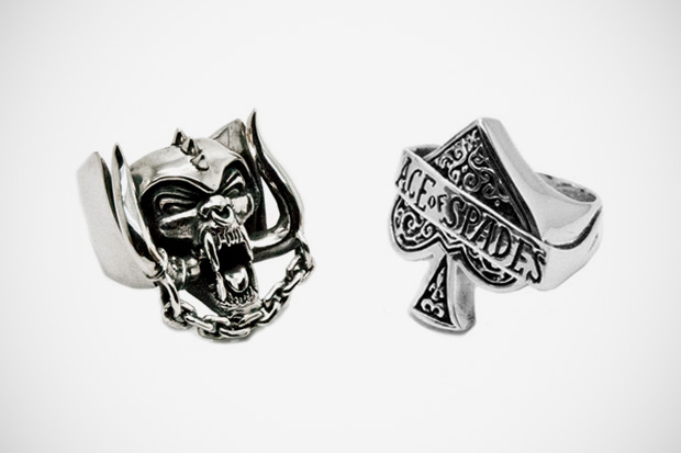 Motörhead x The Great Frog 2011 Silver Rings Collection