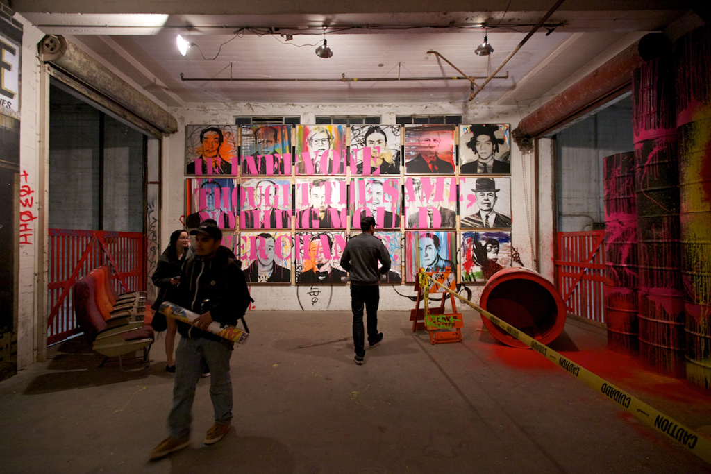 mr brainwash 2011 art show recap