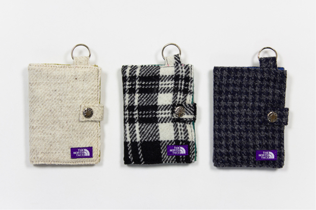 nanamica x THE NORTH FACE PURPLE LABEL Harris Tweed Wallet
