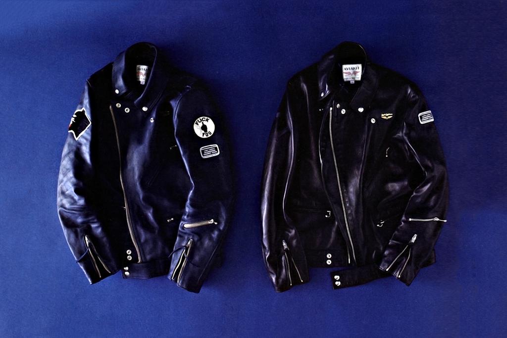 NEIGHBORHOOD x fragment design x Lewis leathers Cyclone Leather Jacket