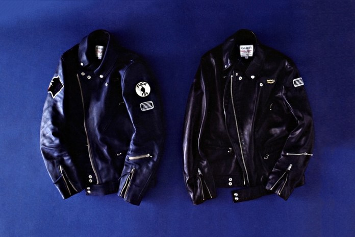 NEIGHBORHOOD x fragment design x Lewis leathers Cyclone Leather Jacket